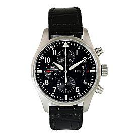 IWC Pilot Chronograph IW377701 Men Watch Original Box & Papers