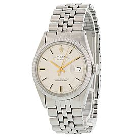 Rolex Oyster Perpetual Datejust 1603 Linen Dial Men's Watch