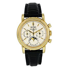 Patek Philippe Grand Complications 3970J Perpetual Calendar Chronograph Mens Wa