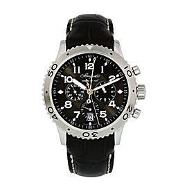 Breguet Type XXI Transatlantique XXI 3810ST/92/9ZU Chronograph Mens Watch Box Pa