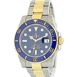 Rolex Submariner 116613 Mens Watch Box Papers