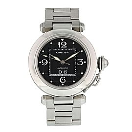 Cartier Pasha 2475 / W31043M7 Stainless Steel Watch Box Papers