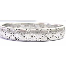 Roberto Coin 18KT Granada Diamond THICK Bangle .60CT