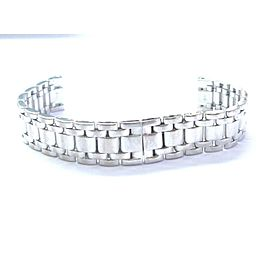Cartier 18kt White Gold Watch Bracelet For MEDIUM Tank Americaine