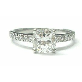Tiffany & Co Platinum Novo Diamond Engagement Ring H-VVS2 1.16CT