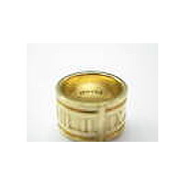 Tiffany & Co Atlas Ring WIDE 18Kt Yellow Gold Size 6