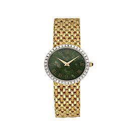 Piaget 9806 Diamond Bezel Yellow Gold Ladies Watch