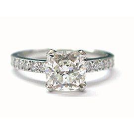 Tiffany & Co Platinum Novo Diamond Engagement Ring I-VVS2 1.19CT