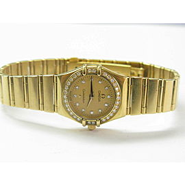 Omega Constellation Brushed 24mm Ladies Watch Ref #1167.15.00