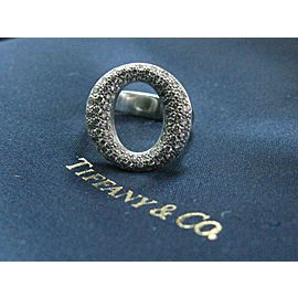 Tiffany & Co Platinum Sevillana Diamond Ring .80CT