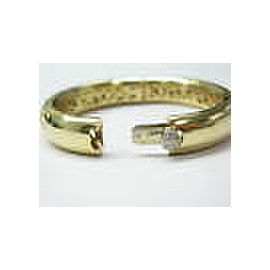 PASQUALE BRUNI 18Kt Amore Diamond Yellow Gold Bangle 0.50CT