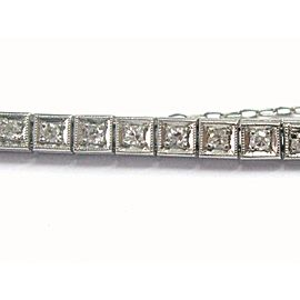 Platinum Vintage Diamond Watch Single Cuts 1900's 1.20CT LRM