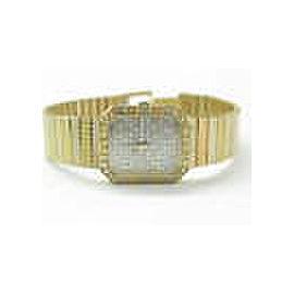 18Kt Women's Concord NATURAL Diamond Pave Yellow Gold Quartz Watch