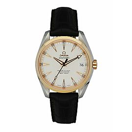 Omega Seamaster Co-Axial 231.23.42.21.02.001 Rose Gold Bezel Men's Watch
