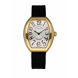Franck Muller Heart To Heart 5002L QZ 18K Yellow Gold Women's Watch Box & Papers