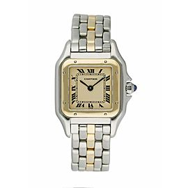 Cartier Panthere One Row Ladies Watch