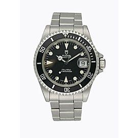 Tudor Submariner 79190 Stainless Steel Men's Watch Box & Paper