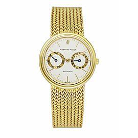 Audemars Piguet 18K Yellow Gold Day-Date Men's Watch