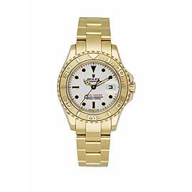Rolex Yachtmaster 69628 18K Yellow Gold Ladies Watch