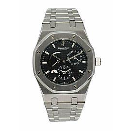 Audemars Piguet Royal Oak 26120ST Dual Time Men's Watch With Papers