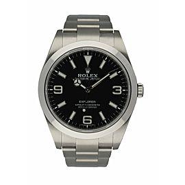 Rolex Explorer 214270 MK2 Dial Men's Watch Box & paper