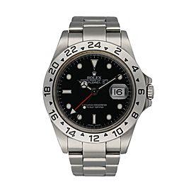 Rolex Explorer II 16570 Engraved Rehaut Men's Watch