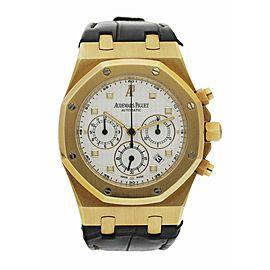 Audemars Piguet Royal Oak 26022BA 18K Yellow Gold Chronograph Men's Watch