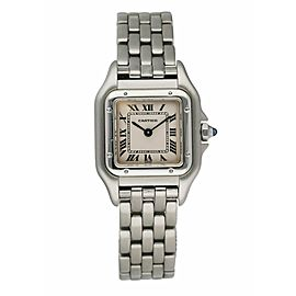 Cartier Panthere 1320 Stainless Steel Ladies Watch