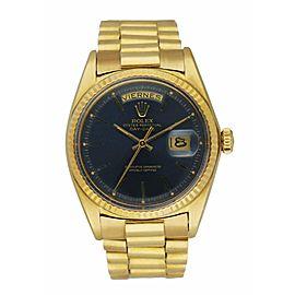 Rolex Day Date 1803 18K Yellow Gold Venezuelan Bracelet Men's Watch