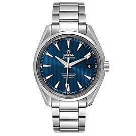 Omega Seamaster Aqua Terra Blue Dial Mens Watch 231.10.42.21.03.003