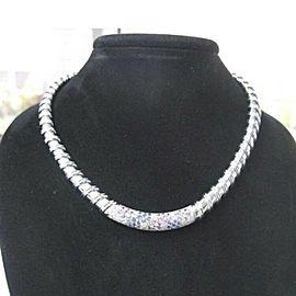 Roberto Coin Nabucco White Gold Diamond Necklace 18KT 3.15CT