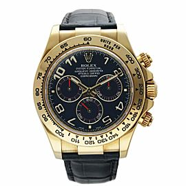 Rolex Daytona 116518 18K Yellow Gold Men's Watch