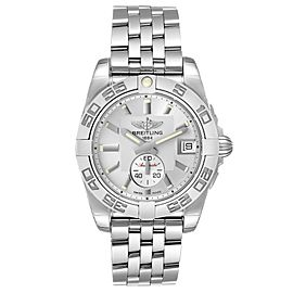 Breitling Galactic 36 Silver Dial Steel Ladies Watch A37330