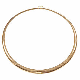 Omega 14K Yellow Gold Necklace
