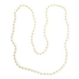 Vintage Cultured Pearl Slip On Necklace