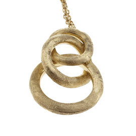 Marco Bicego 18K Yellow Gold Link Pendant Necklace