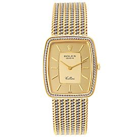 Rolex Cellini 18k Yellow White Gold Champagne Dial Unisex Watch 4340