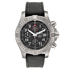 Breitling Avenger Bandit Grey Dial Green Stap Titanium Watch E13383