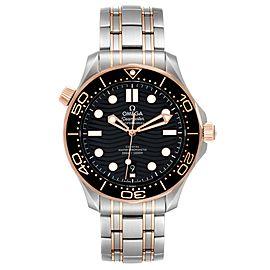 Omega Seamaster Steel Rose Gold Mens Watch 210.20.42.20.01.001