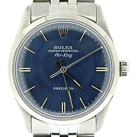 Rolex Air-King 5500 34mm Mens Vintage Watch