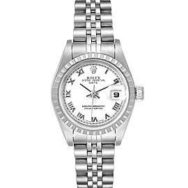 Rolex Date White Dial Jubilee Bracelet Ladies Watch 79240
