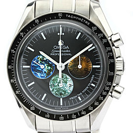 Polished OMEGA Speedmaster From The Moon to Mars Steel Watch 3577.50