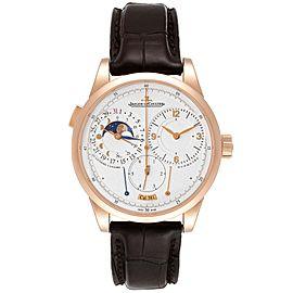 Jaeger Lecoultre Duometre Quantieme Lunaire Rose Gold Watch Q6042421