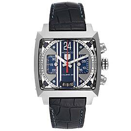 Tag Heuer Monaco 24 Caliber 36 Chronograph Steel Mens Watch CAL5111