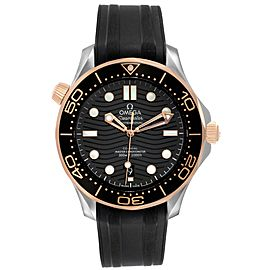 Omega Seamaster Steel Rose Gold Mens Watch 210.22.42.20.01.002