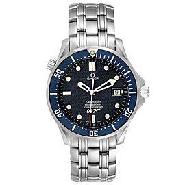 Omega Seamaster 40 Years James Bond Blue Dial Watch 2537.80.00 Unworn