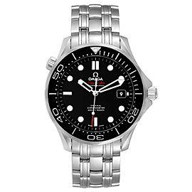 Omega Seamaster Co-Axial Black Dial Watch 212.30.41.20.01.003 Box Card
