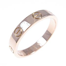 Cartier 18K Pink Gold Mini Love ring TkM-124