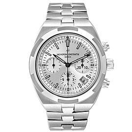 Vacheron Constantin Overseas Silver Dial Chronograph Mens Watch 5500V