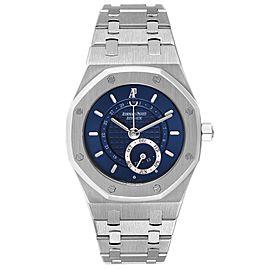 Audemars Piguet Royal Oak Annual Calendar Blue Dial Steel Mens Watch 25920ST